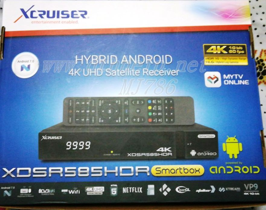 Review of My New XDSR 585 HD Android 4K Receiver   dthhelp for dth