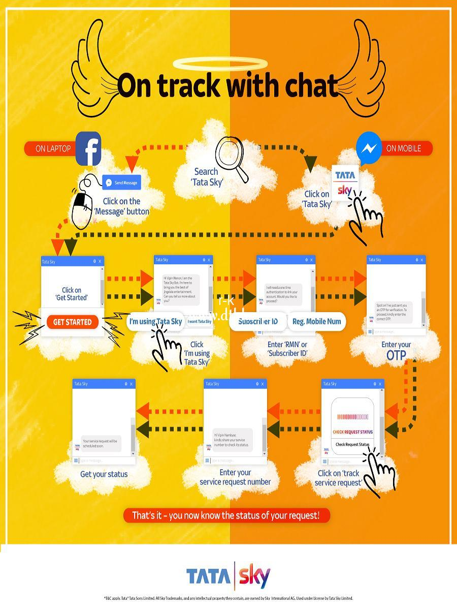 Tata Sky Facebook Bot - On track with chat.jpg