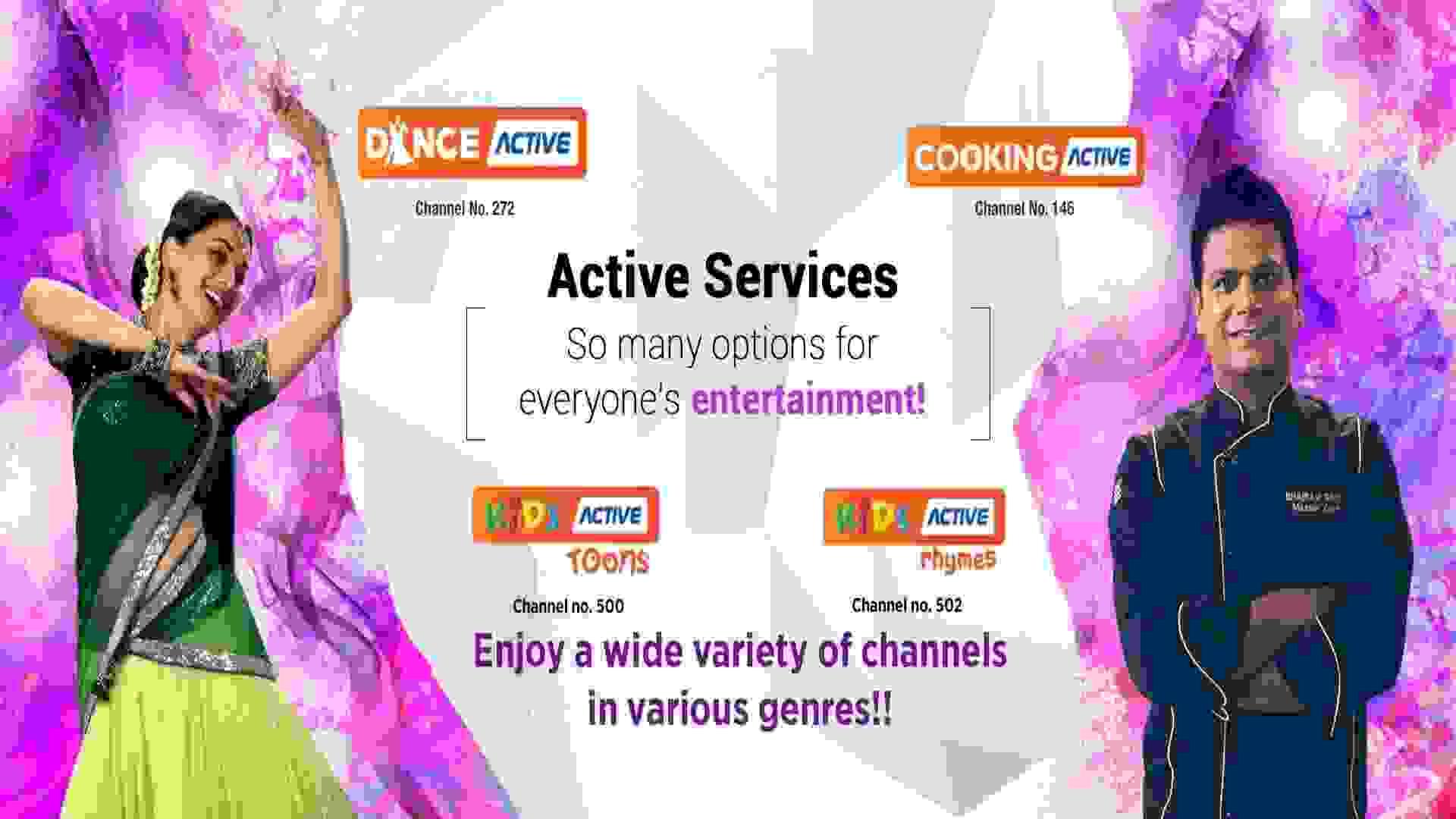 Videocon D2h channel list updated on 08-September-2019
