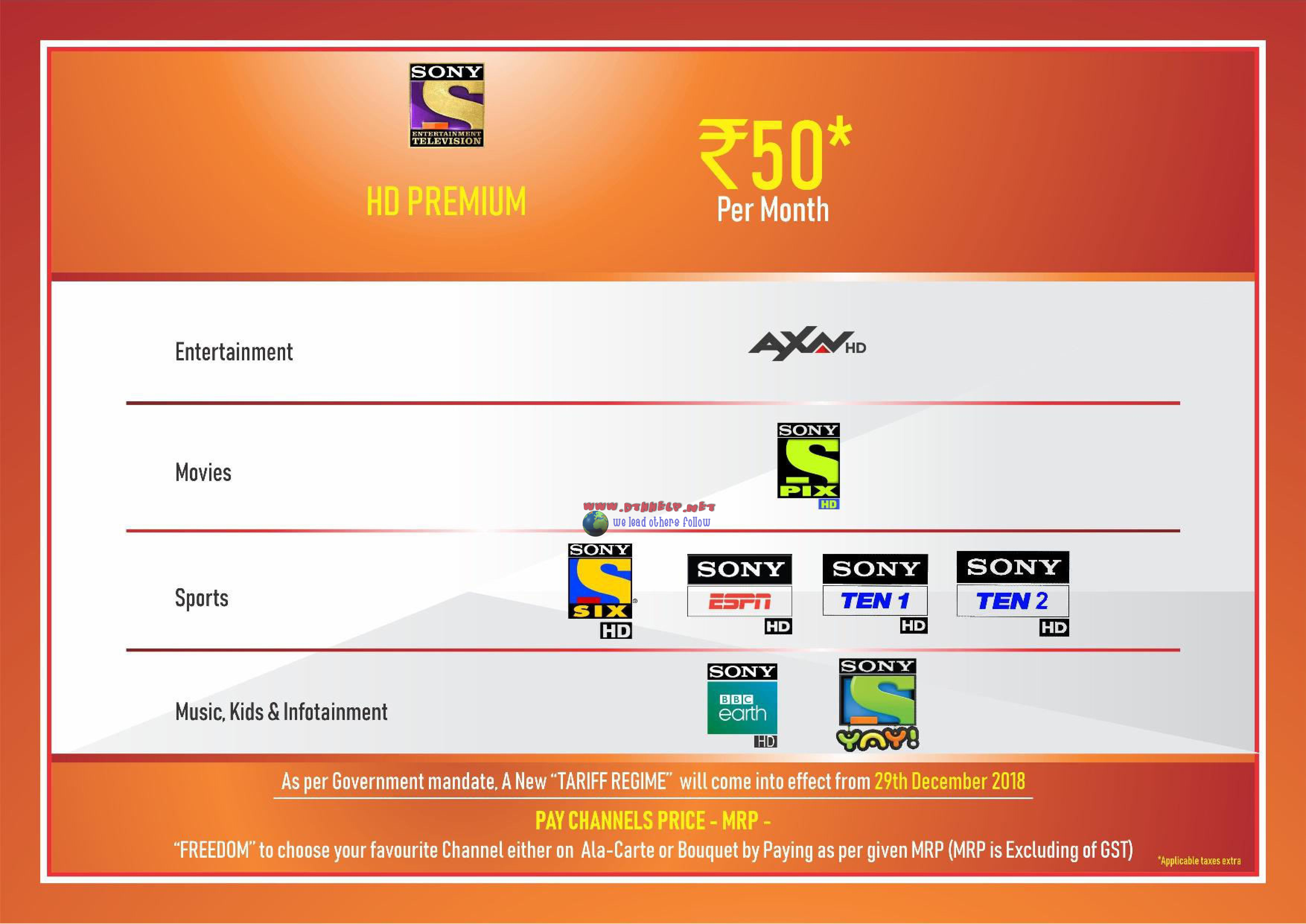 How to Activate Sony Happy India Pack 31 and Sony Happy